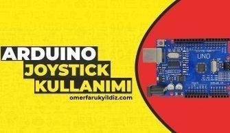 Arduino Joystick Kullanımı