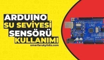 Arduino Su Seviyesi Sensörü Kullanımı