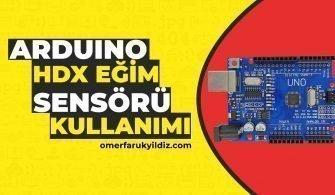 Arduino HDX Eğim Sensörü Kullanımı