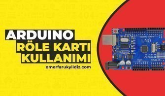 Arduino Röle Kartı Kullanımı