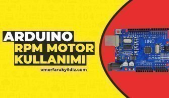 Arduino RPM Motor Kullanımı