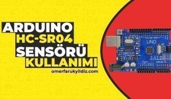 Ultrasonik Mesafe Sensörü Kullanımı
