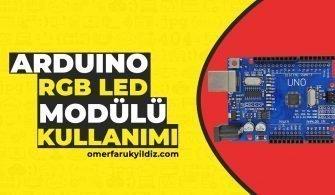 Arduino Rgb Led Modülü Kullanımı