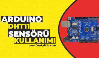 Arduino dht11 Sensörü Kullanımı