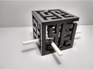 3D Labirent Küp