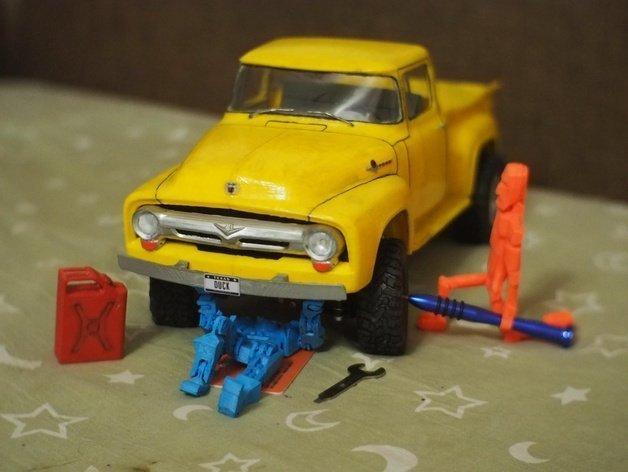 Ford F100 1956 Araba