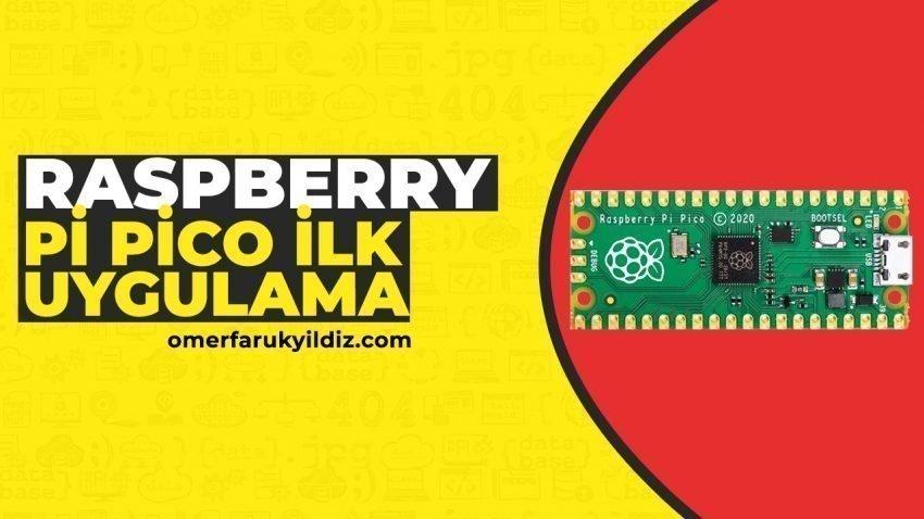 Raspberry Pico İlk Uygulama