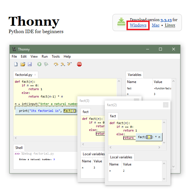 Thonny Web Sitesi