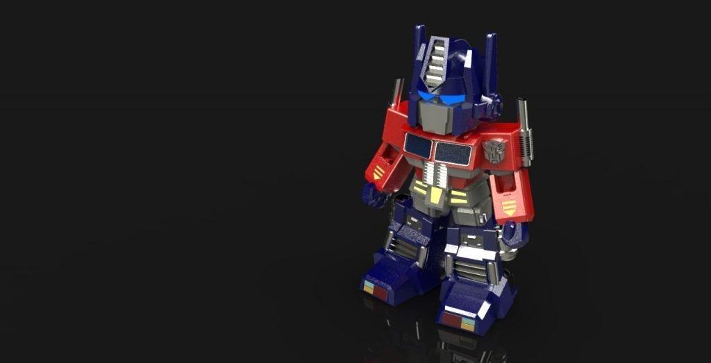 Optimus Prime Anahtarlık