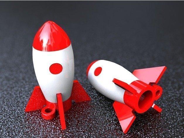 Roket Anahtarlık